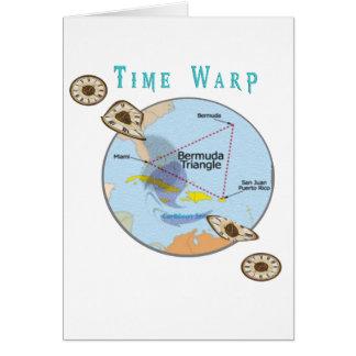 Bermuda triangle time warps card