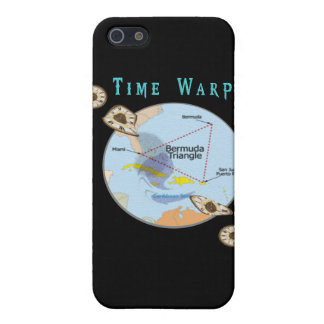 Bermuda triangle time warps cover for iPhone SE/5/5s