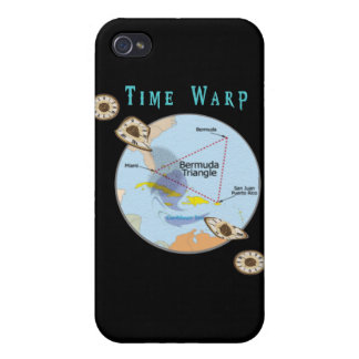 Bermuda triangle time warps covers for iPhone 4