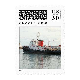 Bermuda Tug stamp