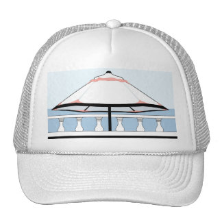 Bermuda Umbrella Trucker Hat