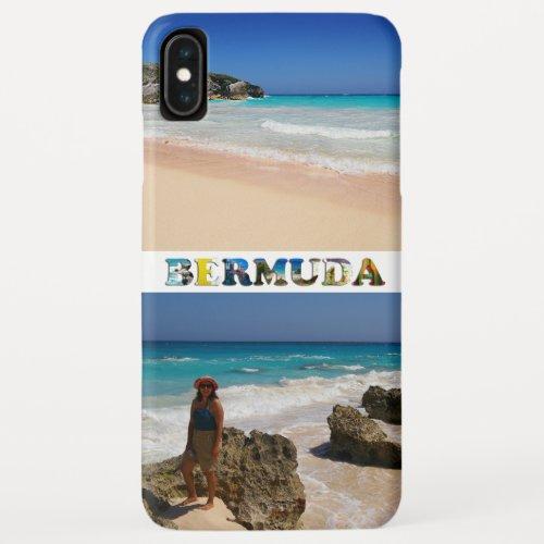 Bermuda Vacation 2 Photos Collage Phone Case