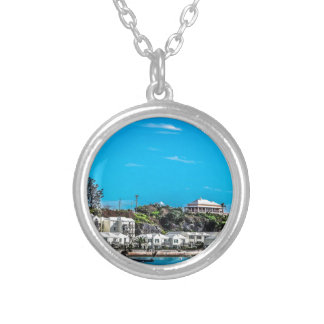 Bermuda View Silver Plated Necklace