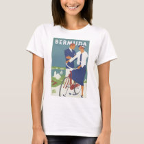 Bermuda Vintage Travel Poster T-Shirt