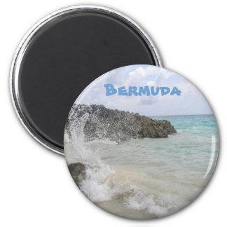 Bermuda Wave 2 Inch Round Magnet