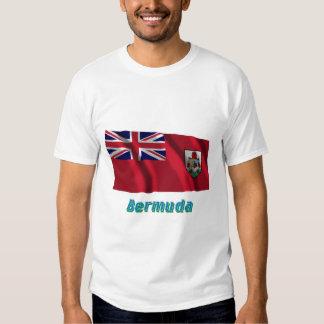 Bermuda Waving Flag with Name Shirt
