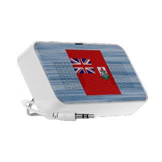 Bermudan Flag Floating on water Mini Speaker