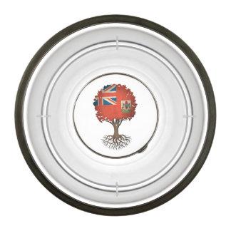 Bermudan Flag Tree of Life Customizable Bowl
