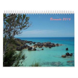 Bermudas 2016 calendarios de pared