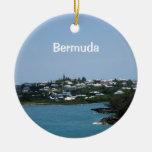 Bermudas Adorno Navideño Redondo De Cerámica