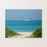 Bermudas - barco de cruceros en el océano puzzle