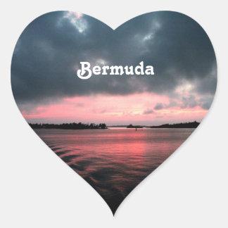 Bermudas Calcomanías De Corazones