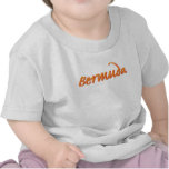Bermudas en naranja camisetas