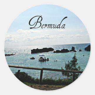 ¡Bermudas hermosas Etiquetas