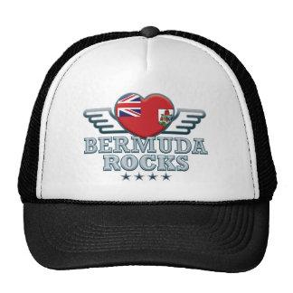 Bermudas oscilan v2 gorros bordados