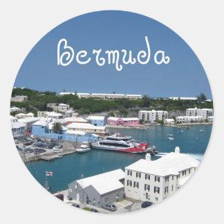 ¡Bermudas Pegatinas Redondas