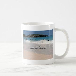 Bermuda's Pink Sand Beach Classic White Coffee Mug