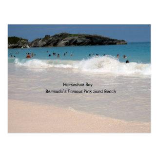Bermuda's Pink Sand Beach Postcard
