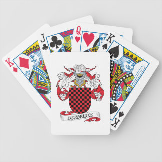 Bermudez Family Crest Bicycle Playing Cards