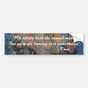 "Bermudez_Heavens_large, ""We rarely hear the inw... Bumper Sticker"