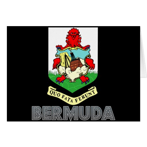 Bermudian Emblem Greeting Cards