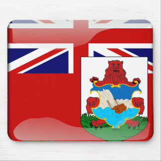 Bermudian glossy flag mouse pad