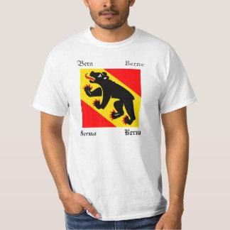 Bern Four Language Swiss Canton Flag T-shirt