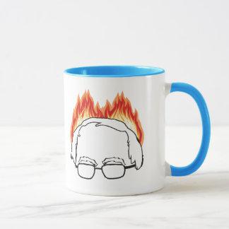 Bern on Fire - Bernie Sanders for President -.png Mug