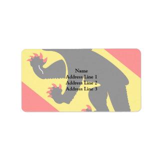 Bern, Switzerland Address Label