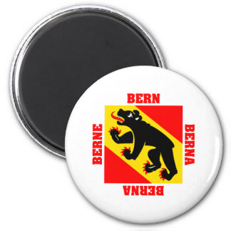 Bern Switzerland Canton Flag Magnet