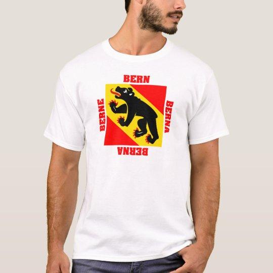 Bern Switzerland Canton Flag T-Shirt