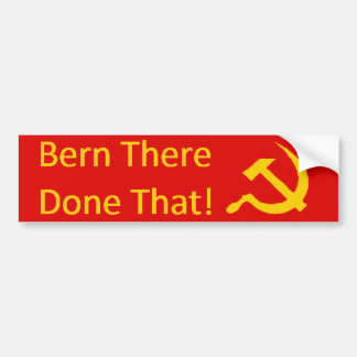 Bern There Done That Bumper Sticker or Shirt