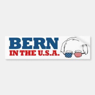 Berna en los E.E.U.U. - chorreadoras de Bernie - Pegatina Para Auto