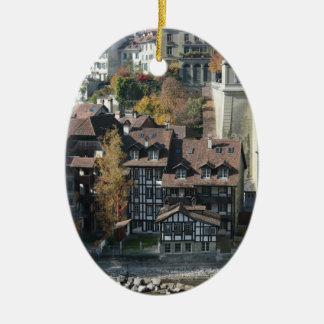 Berna, Suiza Adorno Ovalado De Cerámica