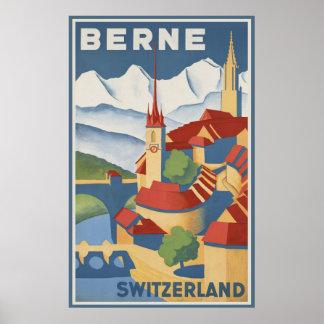 Berna Suiza Póster