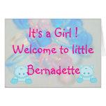 Bernadette Felicitación