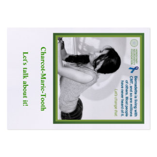 Bernadette Neuropathy card Large Business Cards (Pack Of 100)