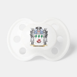 Bernadine Coat of Arms - Family Crest BooginHead Pacifier