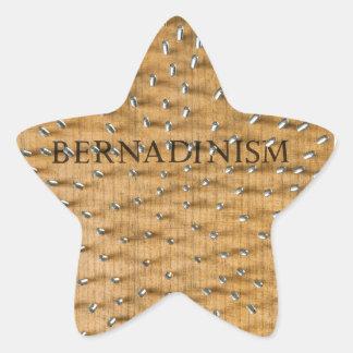 Bernadinism Book of Screws Star Sticker