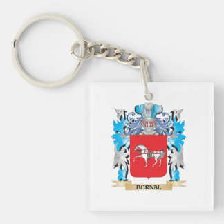 Bernal Coat of Arms Square Acrylic Key Chains