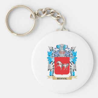 Bernal Coat of Arms Key Chains