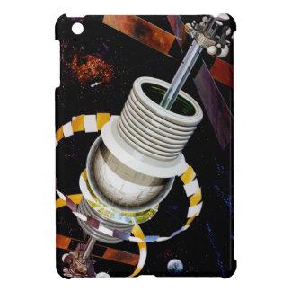 Bernal Sphere Exterior Space Travel iPad Mini Covers