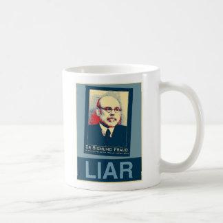 Bernanke - Sigmund Fraud Classic White Coffee Mug