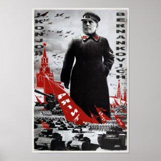 Bernankovich Konjob Poster