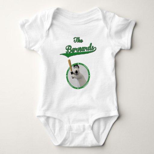 Bernard Bear Baseball Merchandise Body Para Bebé