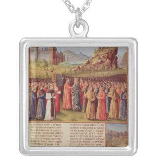 Bernard cruzada de predicación de Clairvaux de la  Collar Plateado