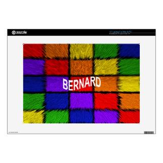 """BERNARD ( male names ) Skin For 15"""" Laptop"""