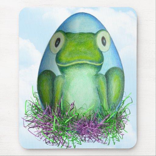 Bernard the Easter Frog Mousepad