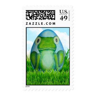 Bernard the Easter Frog Postage