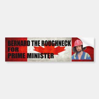 Bernard The Roughneck Bumper Sticker